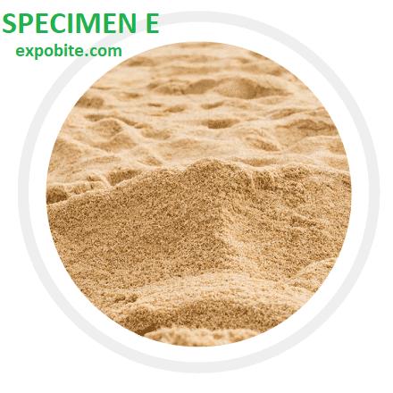 Neco Agric specimen 2021 SPECIMEN E - Sandy soil